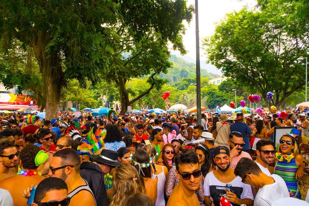 Carnaval Bloco Rio De Janeiro