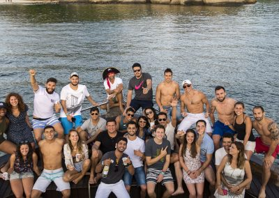 rio boat party