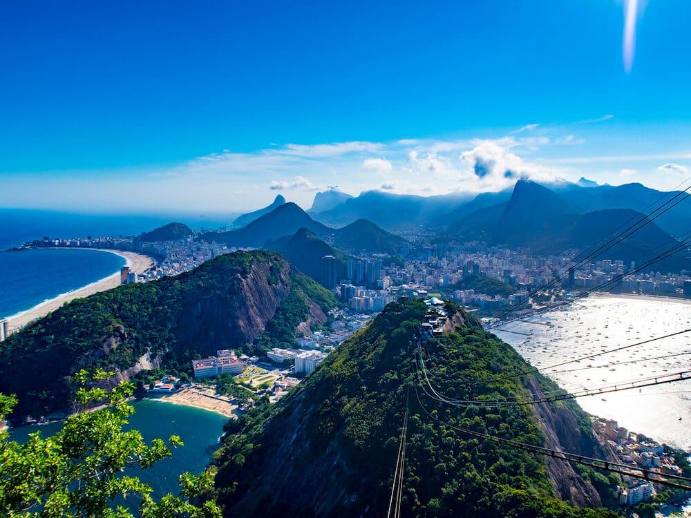 Suglarloaf mountain Rio De Janeiro