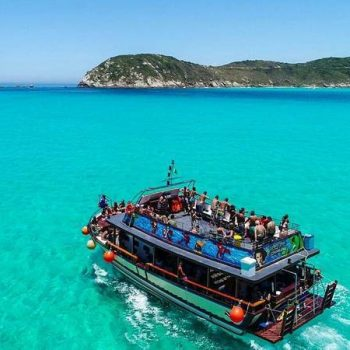 Boat trip in Arraial do cabo