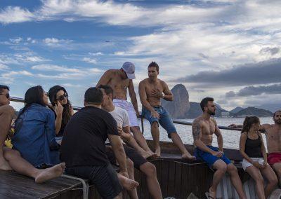 rio boat party