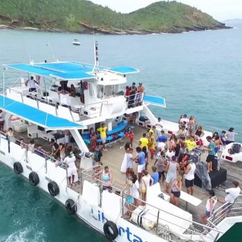 Catamaran Boat Trip in Buzios – 12 hrs – Public Tour