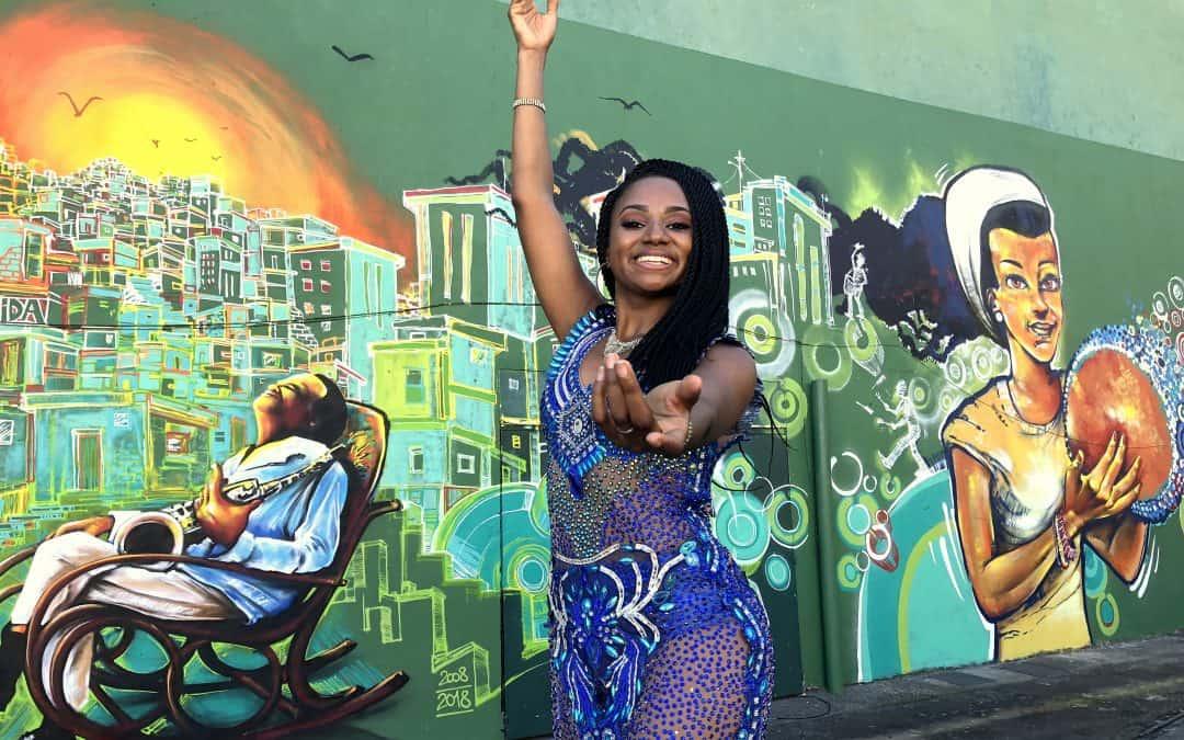 Samba Dance in Lapa Rio de Janeiro