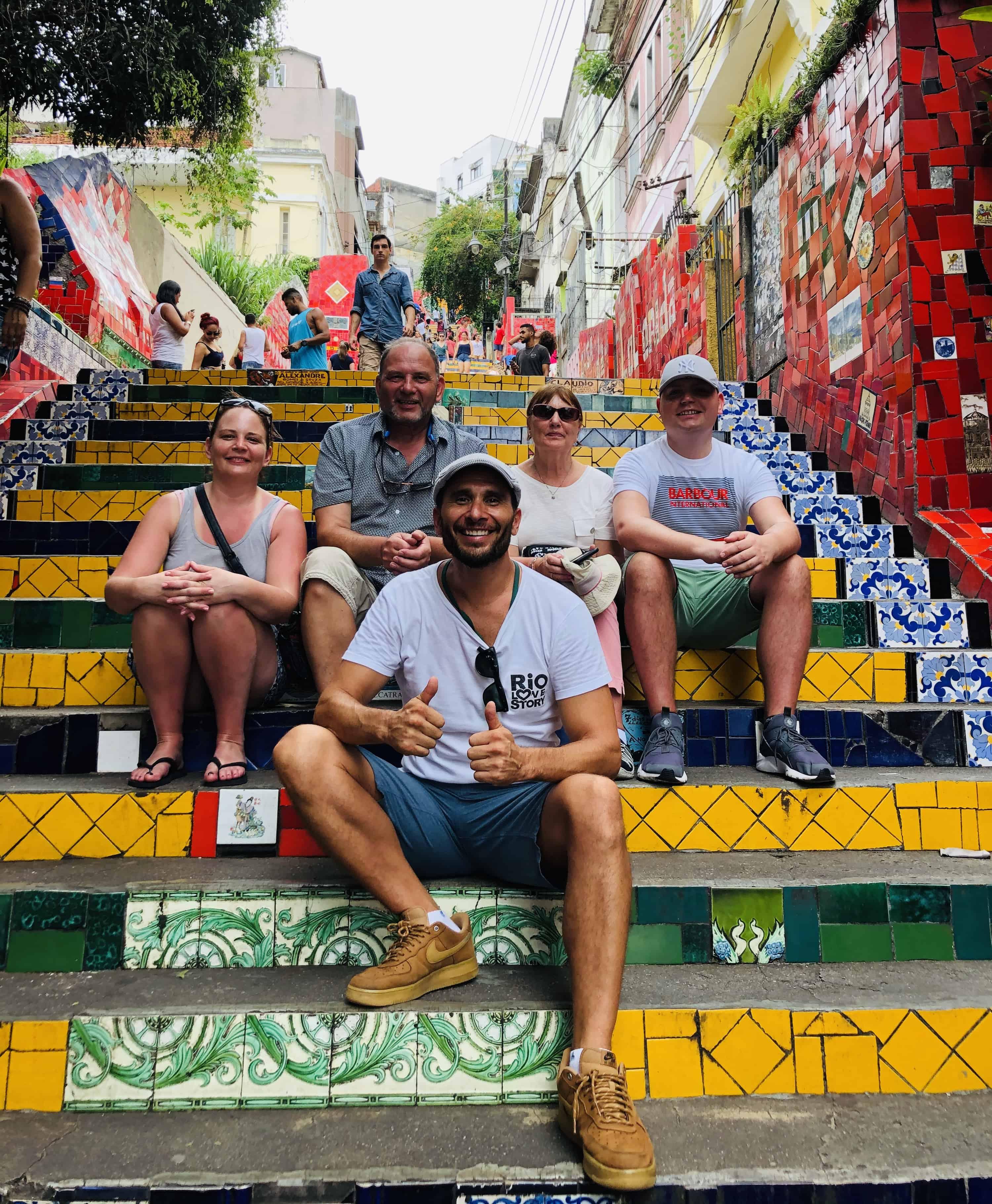 Selaron Steps in Rio de Janeiro