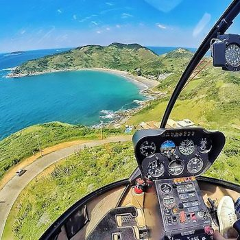 panoramic helicopter ride