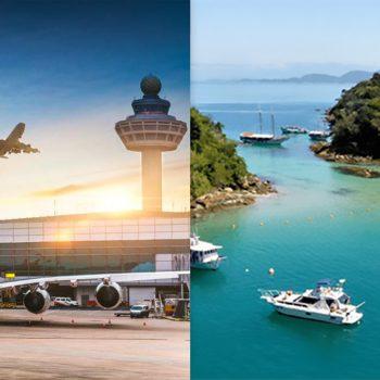 Transfer from Airport in Rio de Janeiro to Ilha Grande