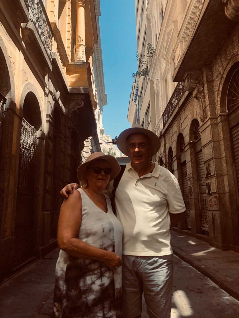 historical city walking tour