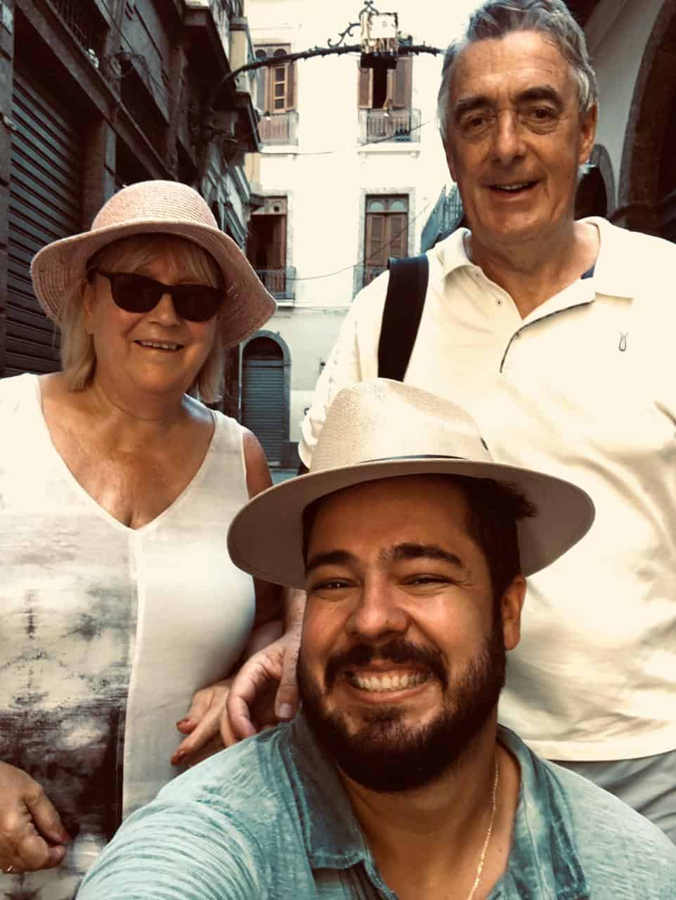 historical city walking tour in rio