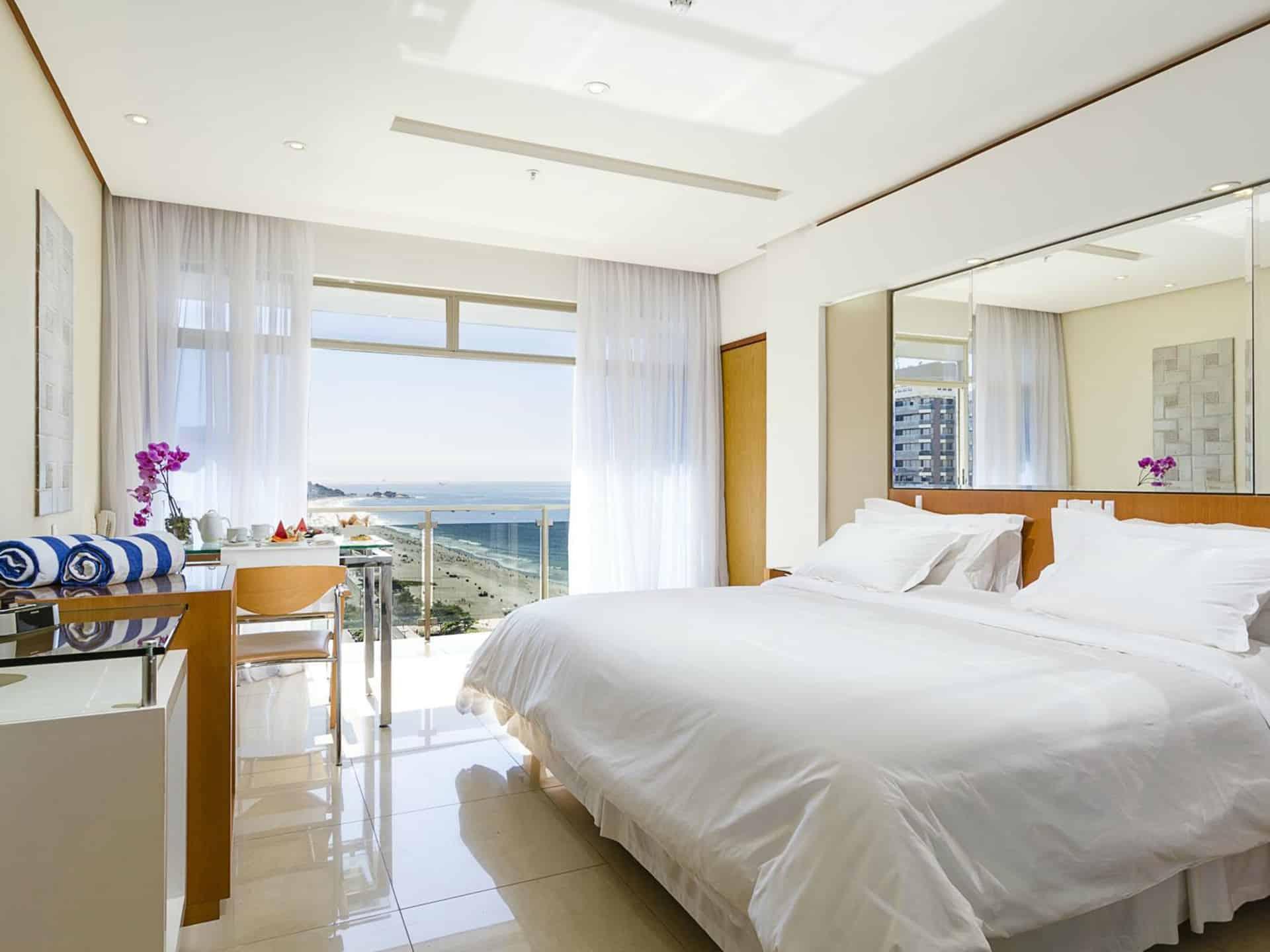 bed at praia ipanema hotel