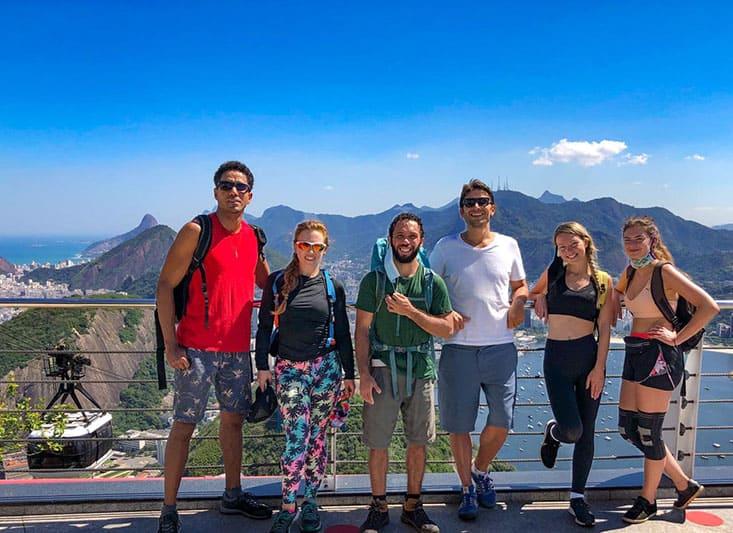 climb sugarloaf mountain in rio de Janeiro