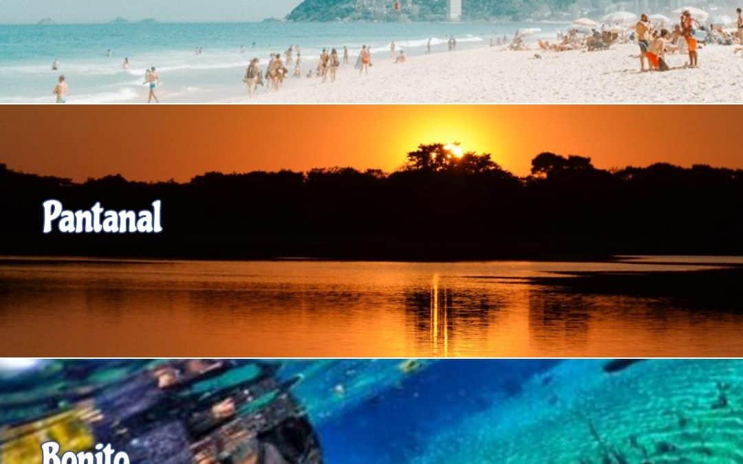 Rio de Janeiro, Pantanal & Bonito