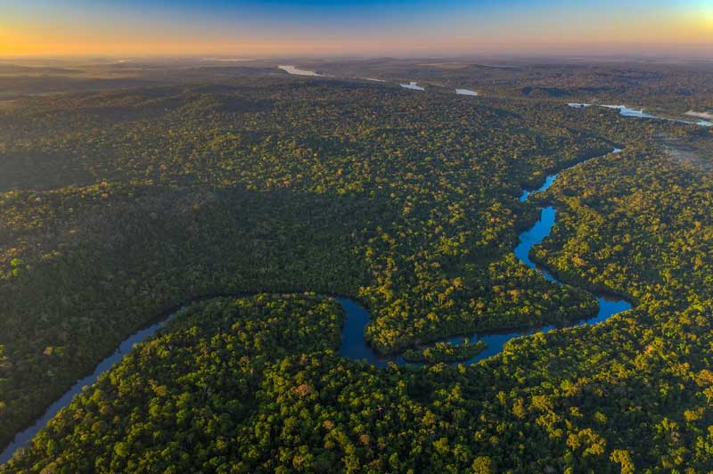 cristalino river amazon