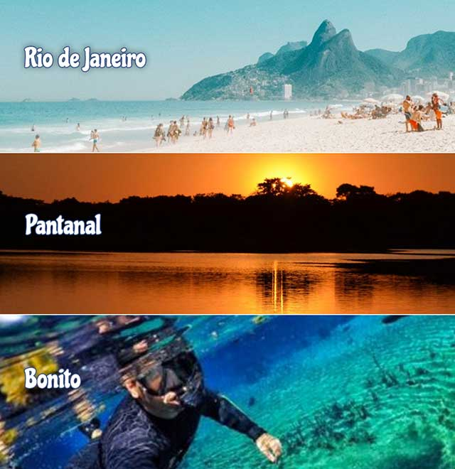 3 Ecosystems Brazil Program / Avoid Crowds / By Rio Love Story